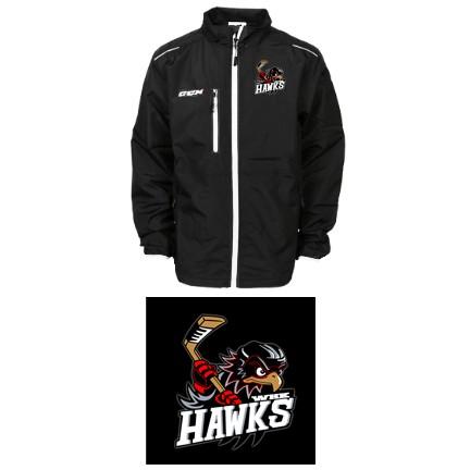 WHK Hawks CCM Team Light Skate Suit Jacket, Adult