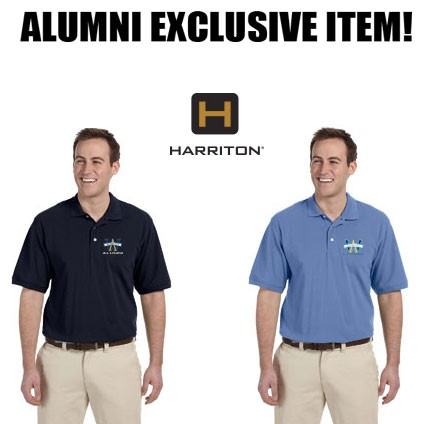 Archbishop Williams High School ALUMNI Mens Harriton EasyBlend Polo