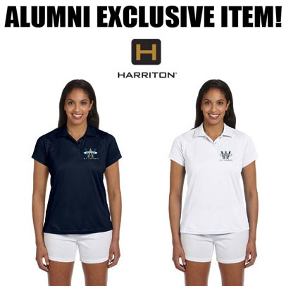 Archbishop Williams High School ALUMNI Womans Harriton PolyTech Polo