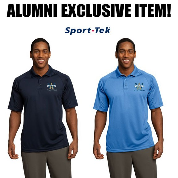 Archbishop Williams High School ALUMNI Mens Sport-Tek® Dri-Mesh® Pro Polo