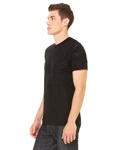 993e3bb04 Bella + Canvas Men's Burnout Short-Sleeve T-Shirt 3601