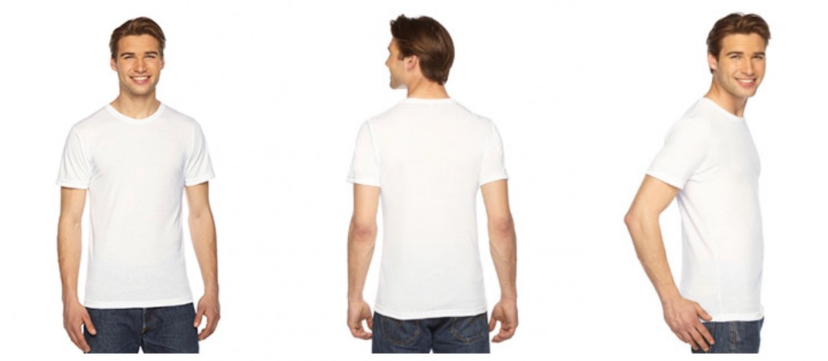 a78ef787 More Views. American Apparel Unisex Sublimation T-Shirt PL401W