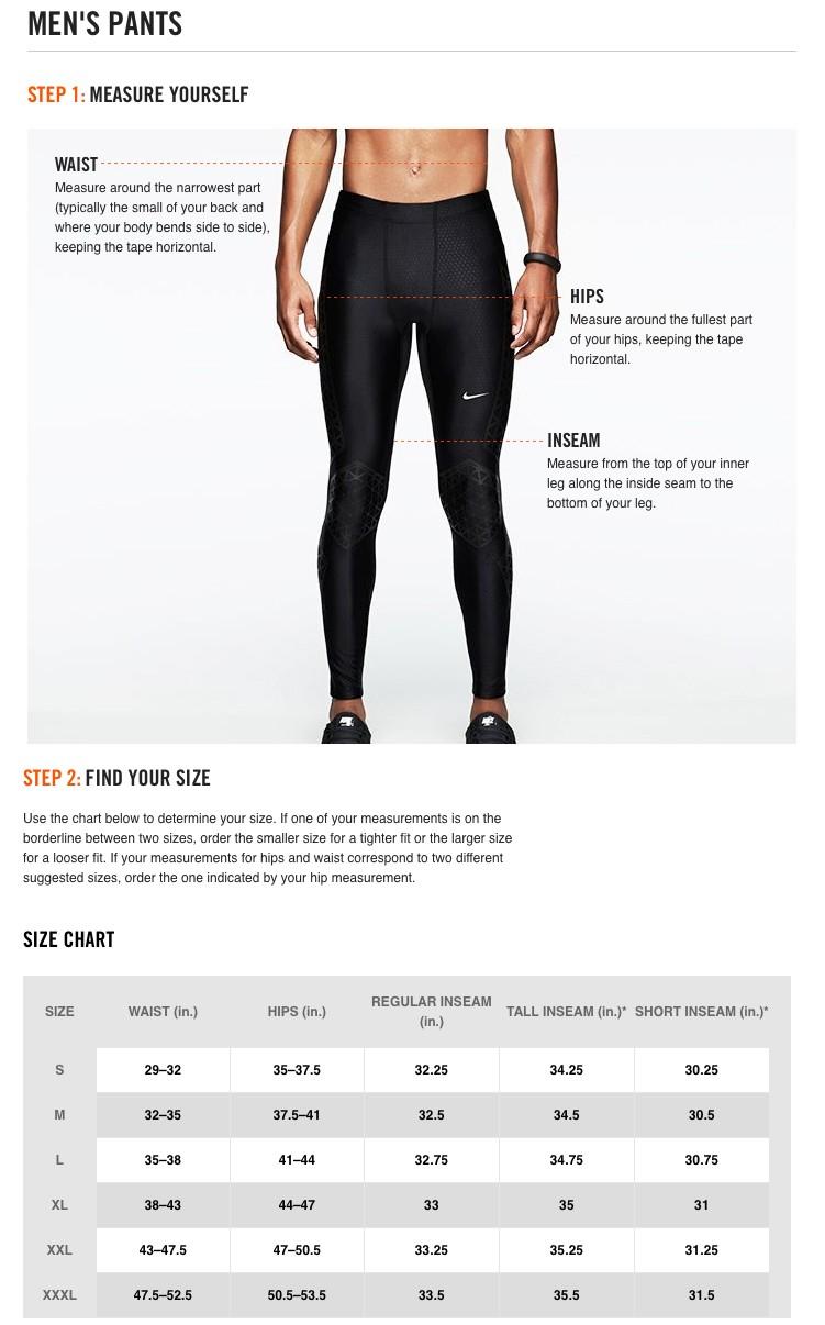 دخان الاعتماد القدوم nike compression shorts size chart