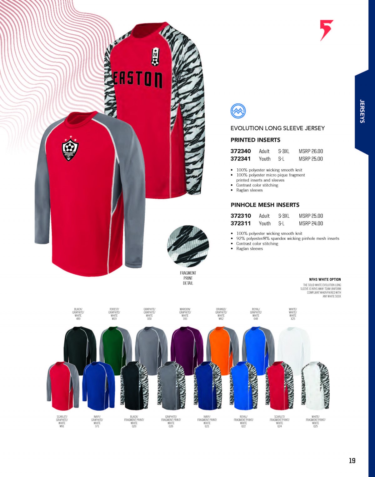 316e652a4c6 Augusta Holloway High Five Russell Athletic Soccer Apparel 2019