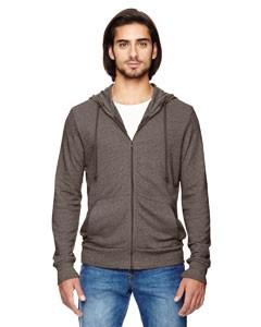 Alternative Men's Eco-Mock Twist Rocky Sweatshirt