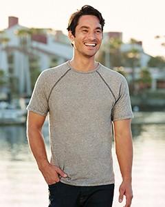 Next Level Men's Mock Twist Short-Sleeve Raglan T-Shirt 2050
