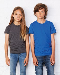 1403fede Bella + Canvas Youth Jersey Short-Sleeve T-Shirt 3001Y