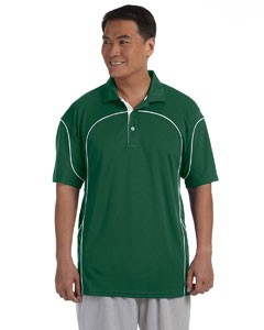 Russell Athletic Men's Team Prestige Polo, Performance Material