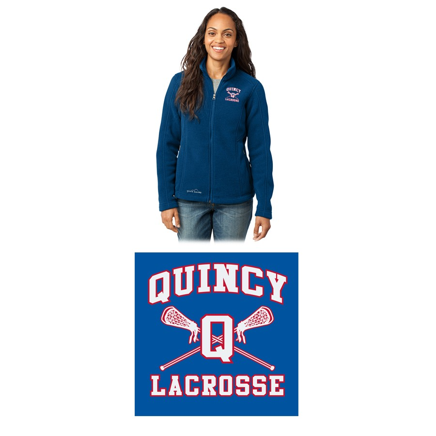 Quincy Lacrosse Eddie Bauer® Ladies Full-Zip Fleece Jacket EB201, Premium Item