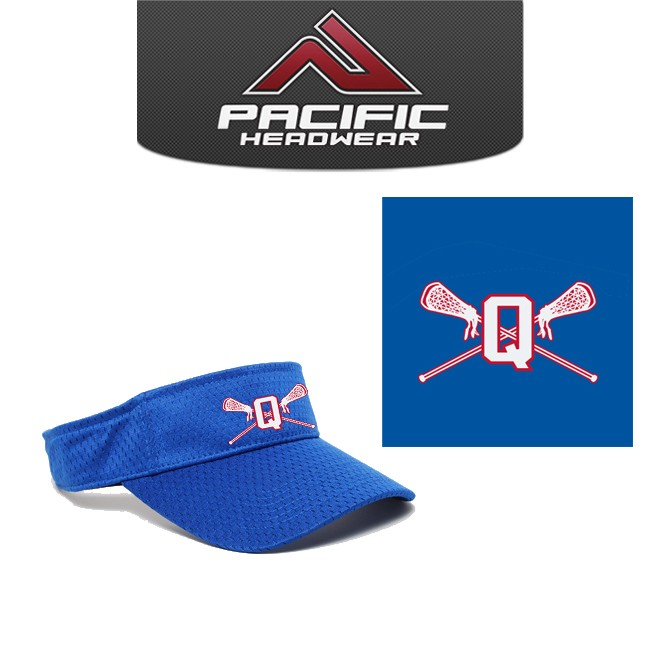 Quincy Lacrosse Pacific Headwear Brand Coolport Visor