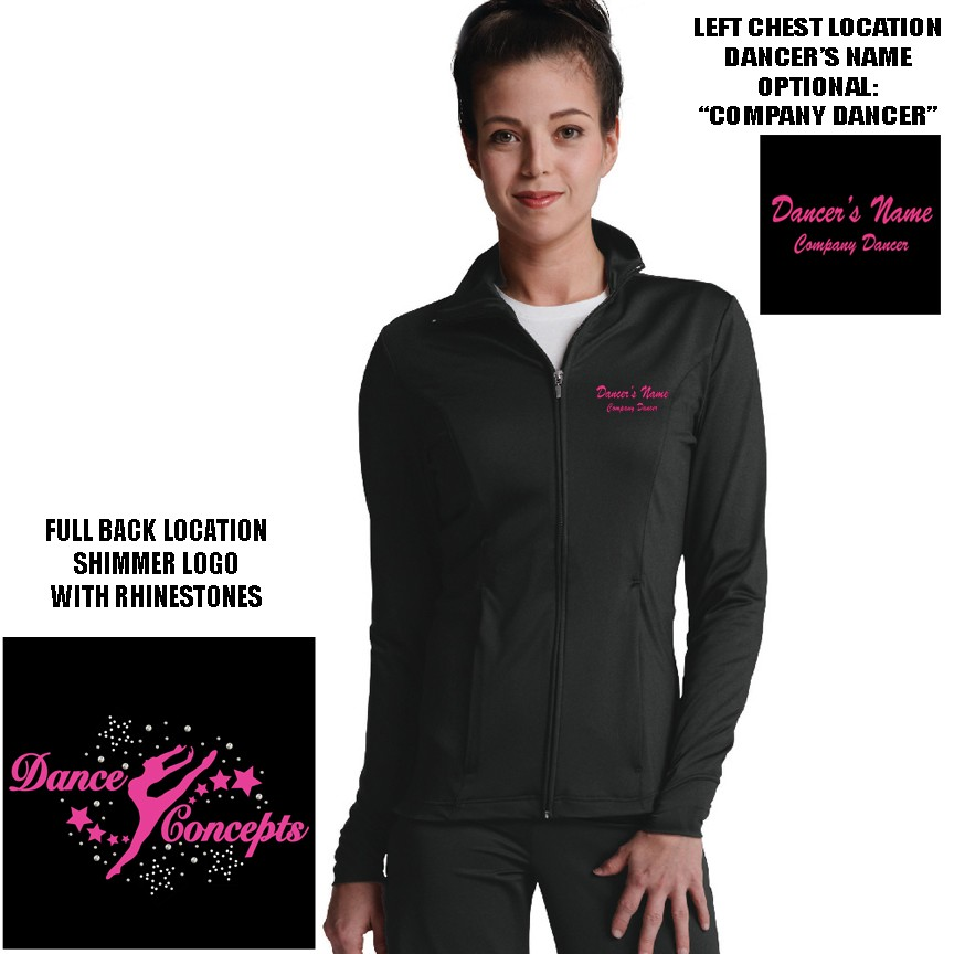 Dance Concepts Charles River Fitness Jacket, Adult Women's