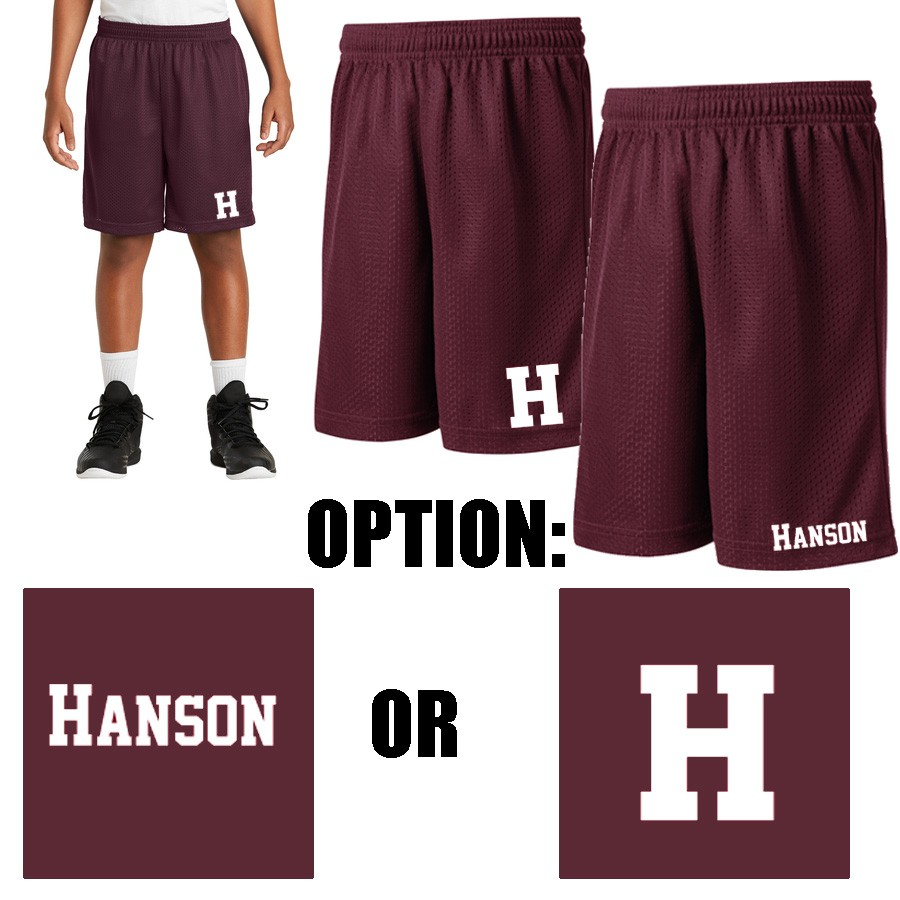 Hanson Pto Sport Tek Youth Posicharge Classic Mesh Short Youth Fit A Top Seller Yst510 Free shipping & return with rvca insider. rockland athletics