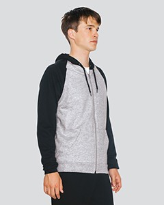 American Apparel Unisex California Fleece Zip Hoodie 5497
