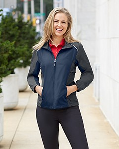 Ash City - Core 365 Ladies' Stratus Colorblock Lightweight Jacket 78223