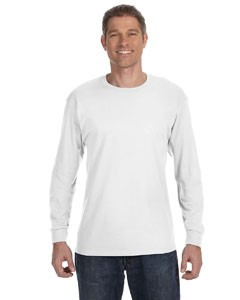 Fruit of the Loom 5.6 oz., 50/50 Best™ Long-Sleeve T-Shirt- CLEARANCE