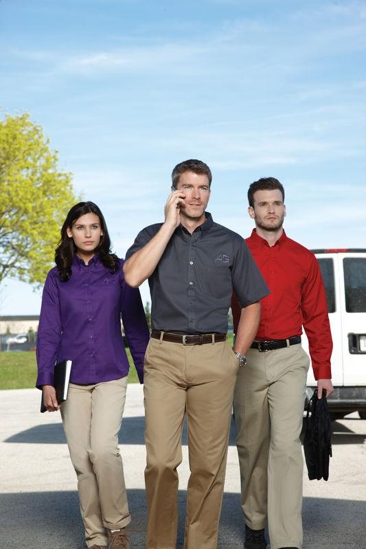 Ash City - Core 365 Men's Tall Operate Long-Sleeve Twill Shirt 88193T