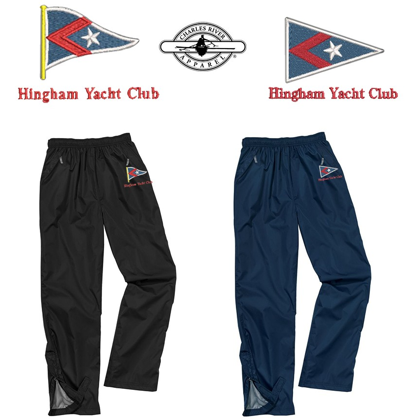 Hingham Yacht Club Charles River Adult Nor'Easter Rain Pant 9783