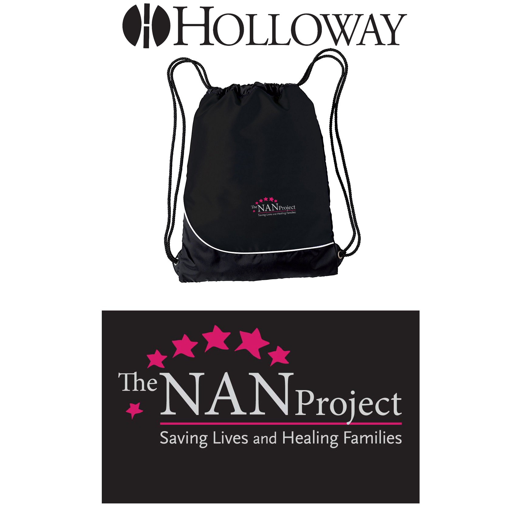 The NAN Project Holloway Day-Pak Bag