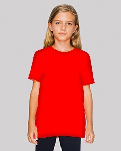 American Apparel Youth Poly-Cotton Short-Sleeve Crewneck BB201