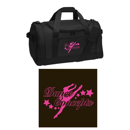 Dance Concepts Port Authority® Voyager Sports Duffel Bag, EMBROIDERED LOGO!