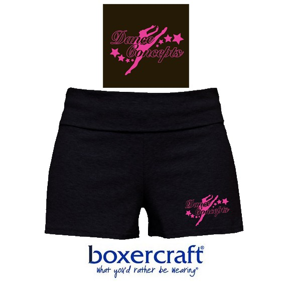 Dance Concepts Boxercraft Bootie Short, Youth Girls