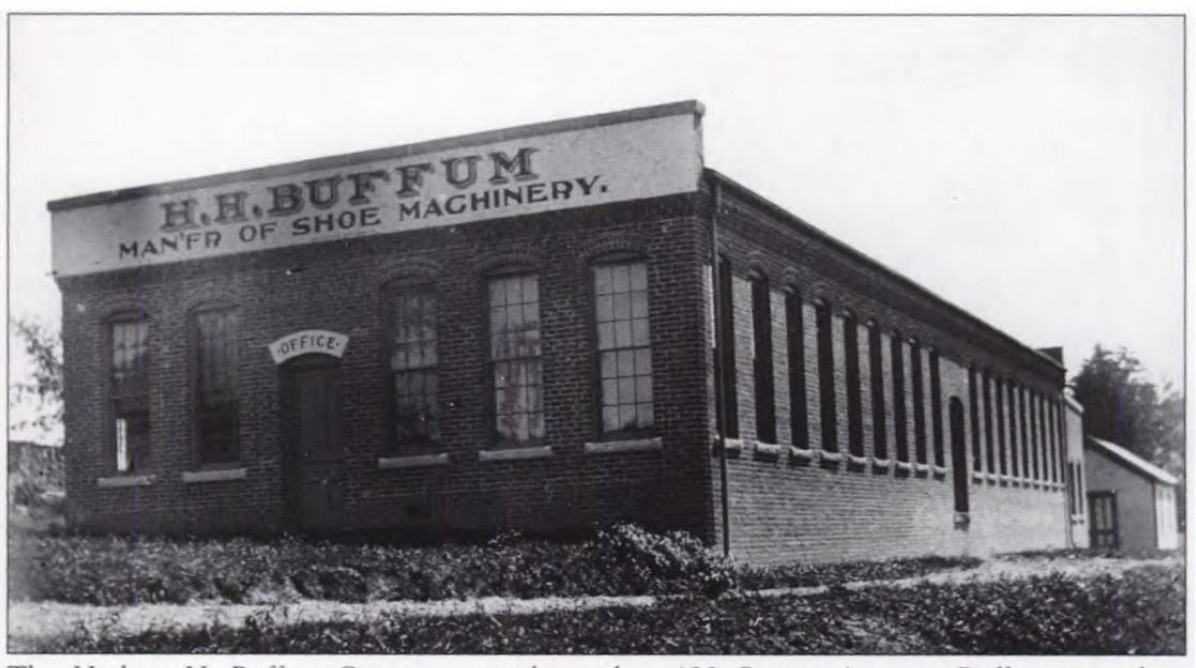 HH Buffum Shoe Machinery (and Automobiles!!!) of Abington, 123 Centre Avenue and Surrounding Areas