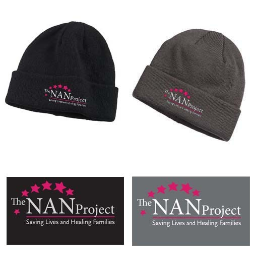 The NAN Project Big Accessories Brand Watch Cap