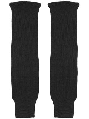 WHK Hawks Black Solid Hockey Socks