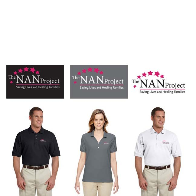 The NAN Project Devon & Jones Pima Piqué Short-Sleeve Polo