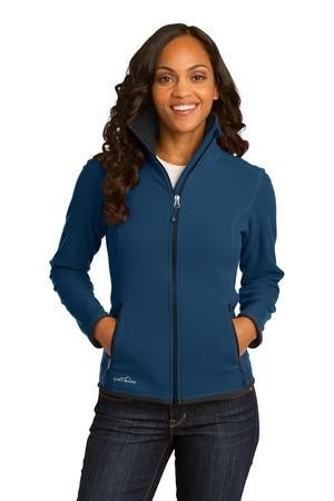 Eddie Bauer® Ladies Full-Zip Vertical Fleece Jacket. EB223
