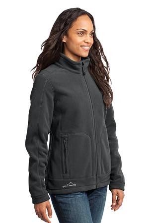 Eddie Bauer® - Ladies Wind-Resistant Full-Zip Fleece Jacket. EB231