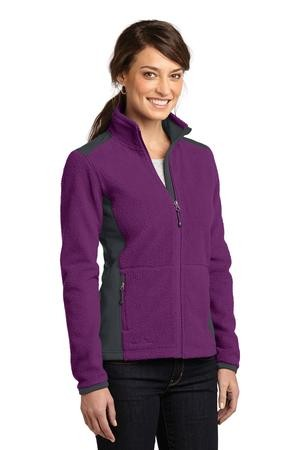 Eddie Bauer® Ladies Full-Zip Sherpa Fleece Jacket. EB233