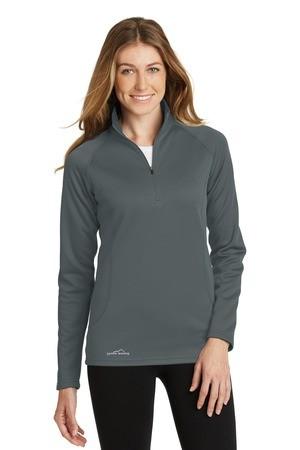 Eddie Bauer® Ladies 1/2-Zip Base Layer Fleece. EB237
