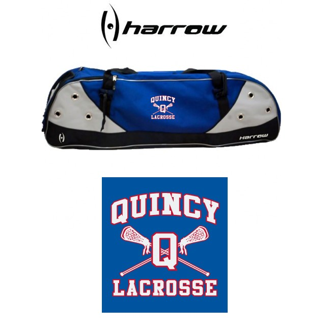 Quincy Lacrosse Harrow Brand Elite Duffel Stick Bag (Replaces Blitz 4000 Deluxe Stick Bag)