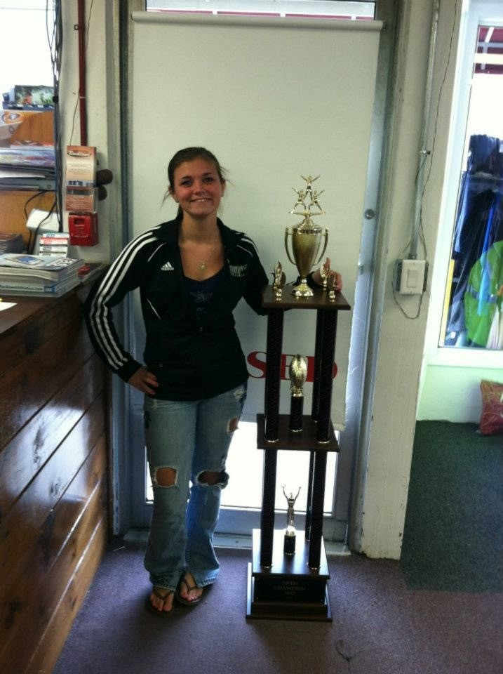 Five Foot Tall (!!!) Trophy!