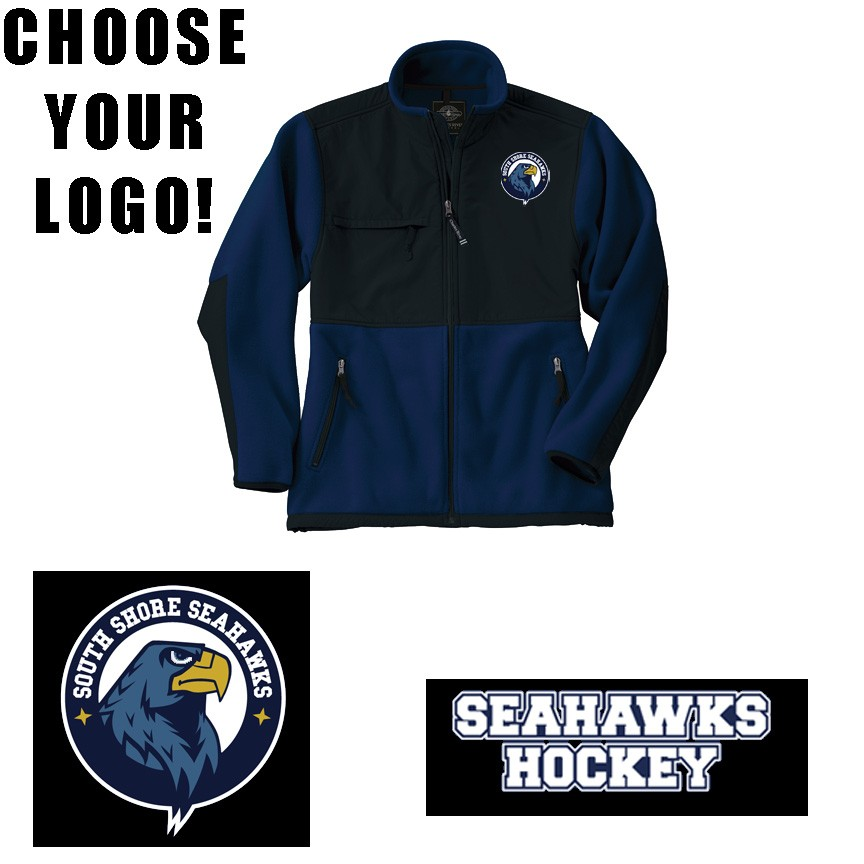 low priced 7753e fc9b6 South Shore Seahawks Charles River Evolux Fleece Jacket ...