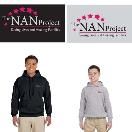The NAN Project Gildan Heavy Blend™ 8 oz., 50/50 Hoodie