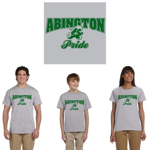 """Abington Town Apparel """"Abington Pride"""" 100% Cotton Tee"""