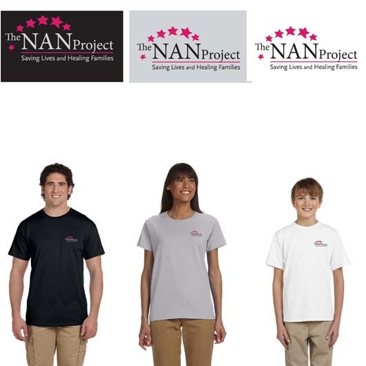 The NAN Project Gildan Ultra Cotton® 6 oz. Short Sleeve T-Shirt