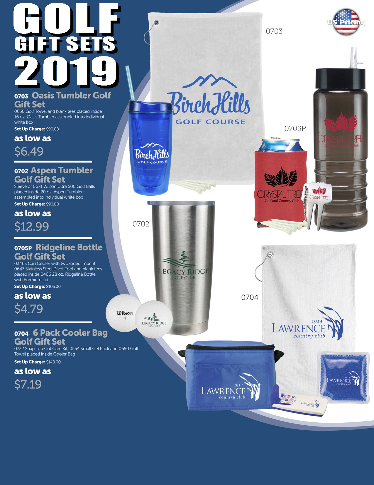 2019 Golf Gift Set Package 1A