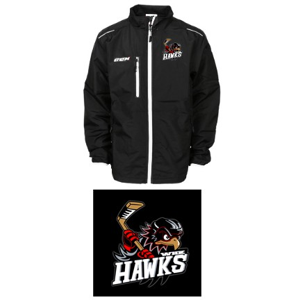 WHK Hawks CCM Team Light Skate Suit Jacket, Adult