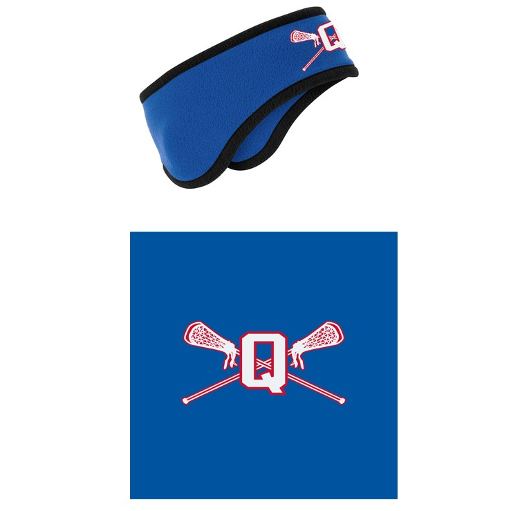 Quincy Lacrosse Port Authority® Two-Color Fleece Headband C916