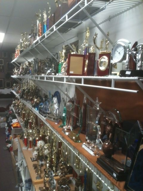 Hundreds Of Trophy Options