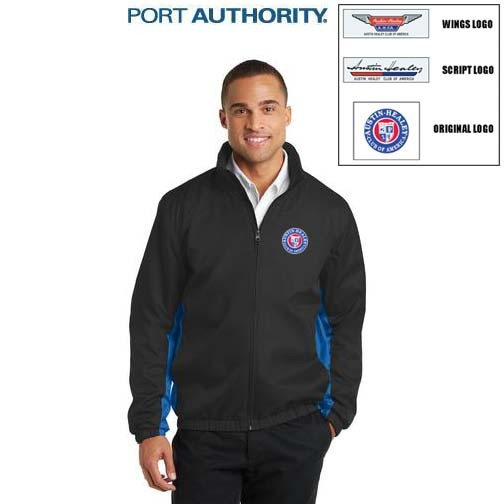 AHCA STEP- UP PROGRAM: Port Authority® Core Colorblock Wind Jacket For Men, Embroidered Logo, Style #J330