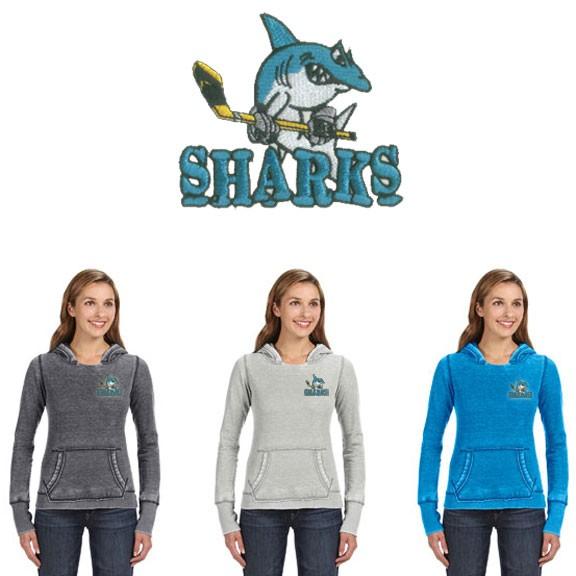 Cape Cod Canal Youth Hockey J America Ladies' Zen Pullover Fleece Hood
