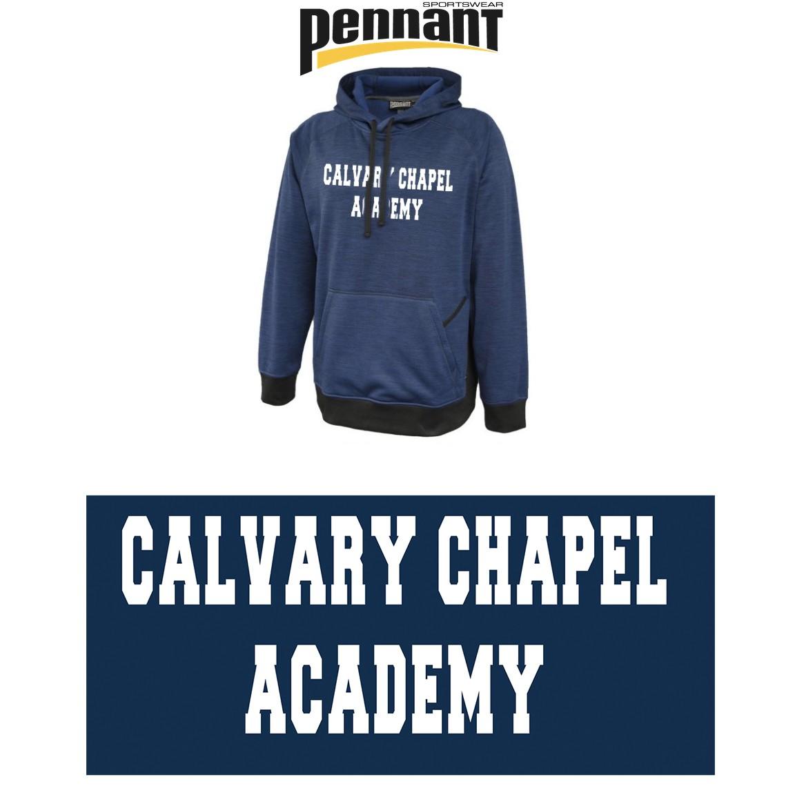 Calvary Chapel Academy Pennant Sportswear Jetstar Hoodie, Unisex Adult