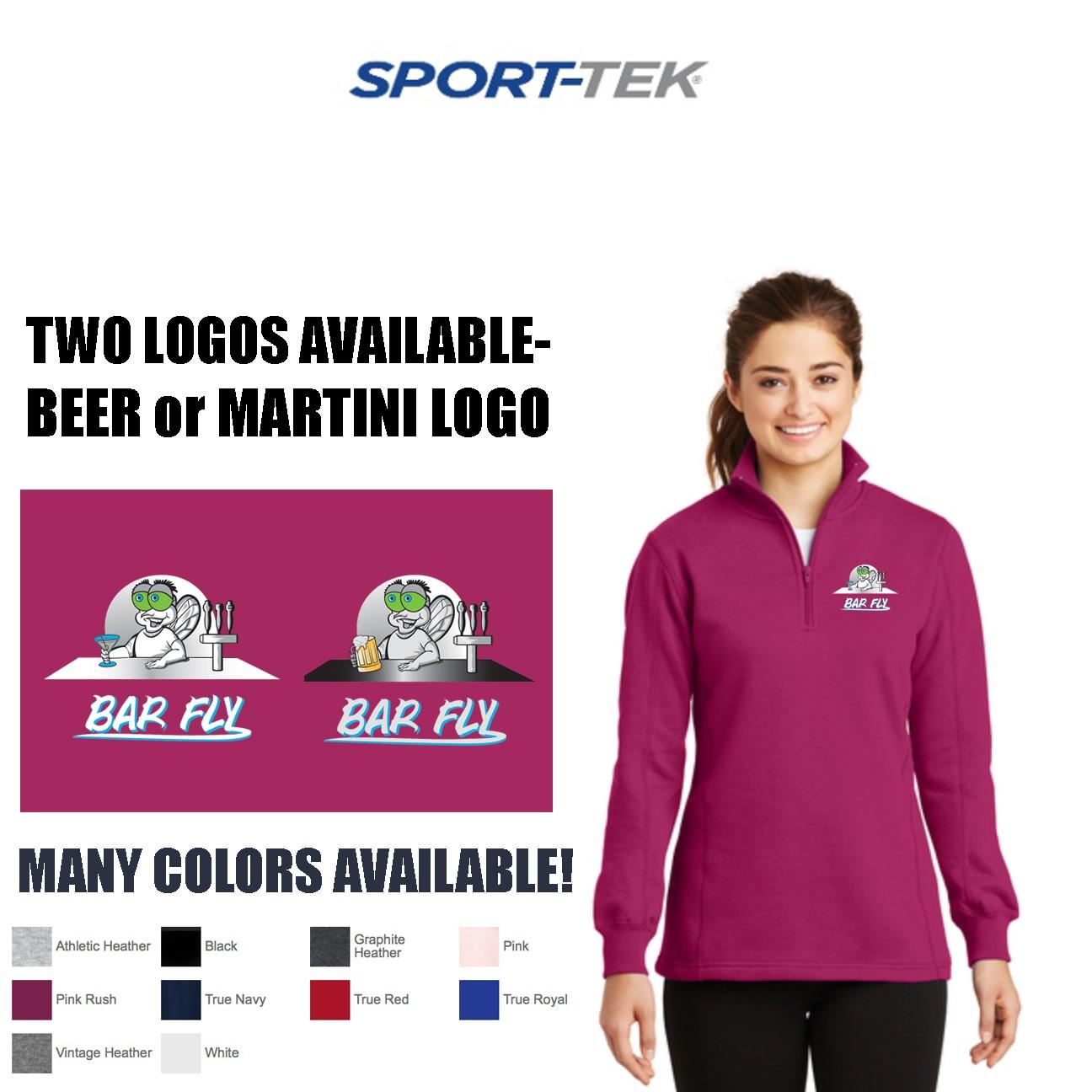 Bar Fly Apparel Sport Tek 1 4 Zip Sweatshirt Womens Fit 0 reviews write a review. bar fly apparel sport tek 1 4 zip