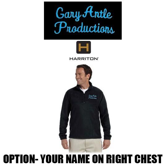 285fc1da0a335 Gary Antle Productions Harriton 8 oz. Quarter-Zip Fleece Pullover