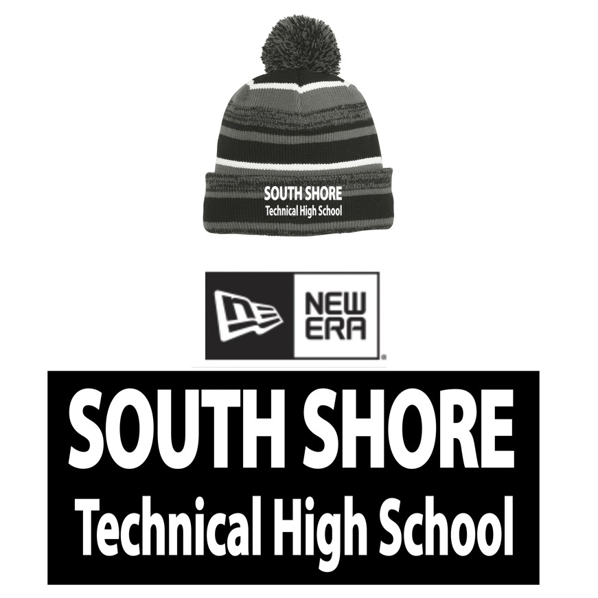 d2a204fb683 South Shore Technical High School New Era® Sideline Beanie