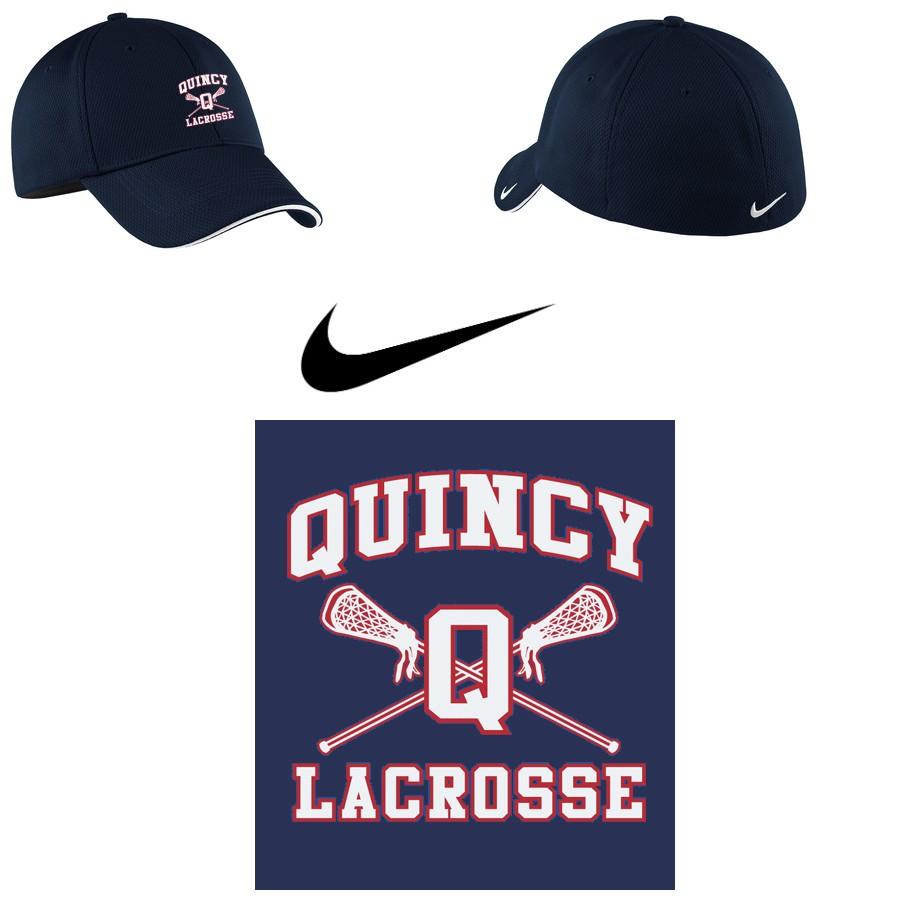 Quincy Lacrosse Nike Golf - Dri-FIT Mesh Swoosh Flex Sandwich Cap